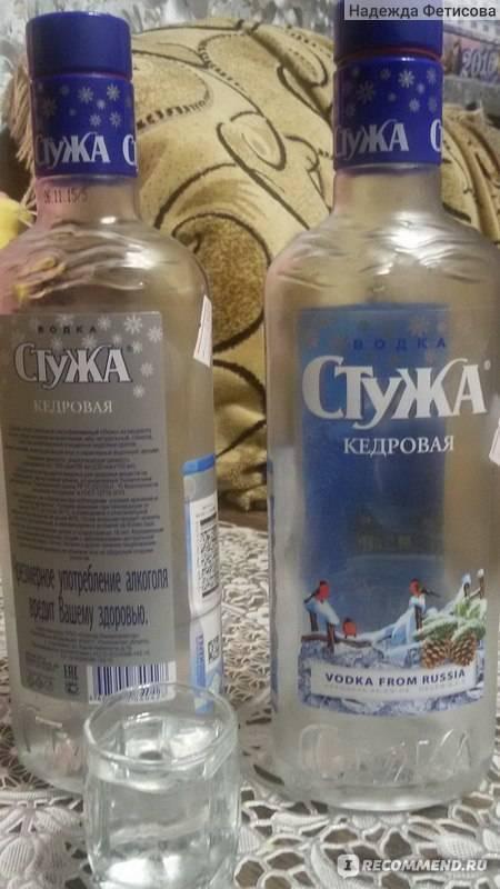 Технология производства водки