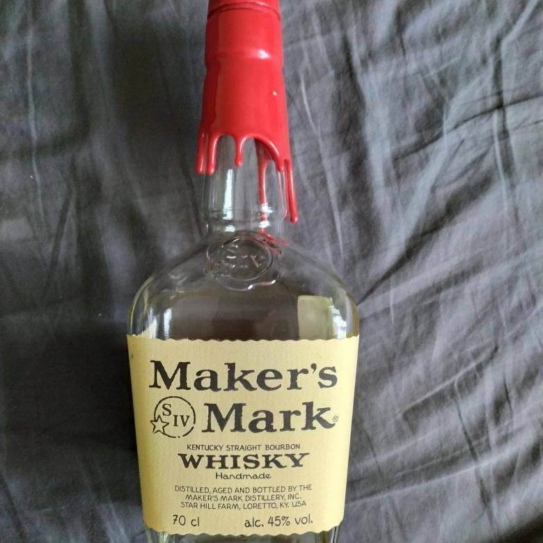 Бурбон maker's mark (мэйкерс марк или печать мастера)
