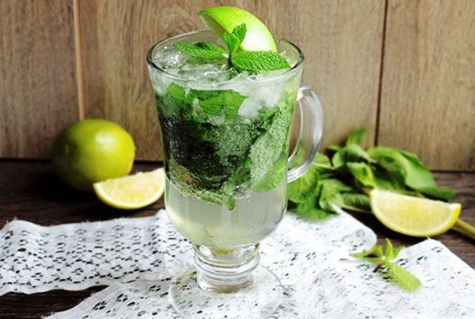 Безалкогольный «мохито» / безалкогольные коктейли / tvcook: пошаговые рецепты с фото