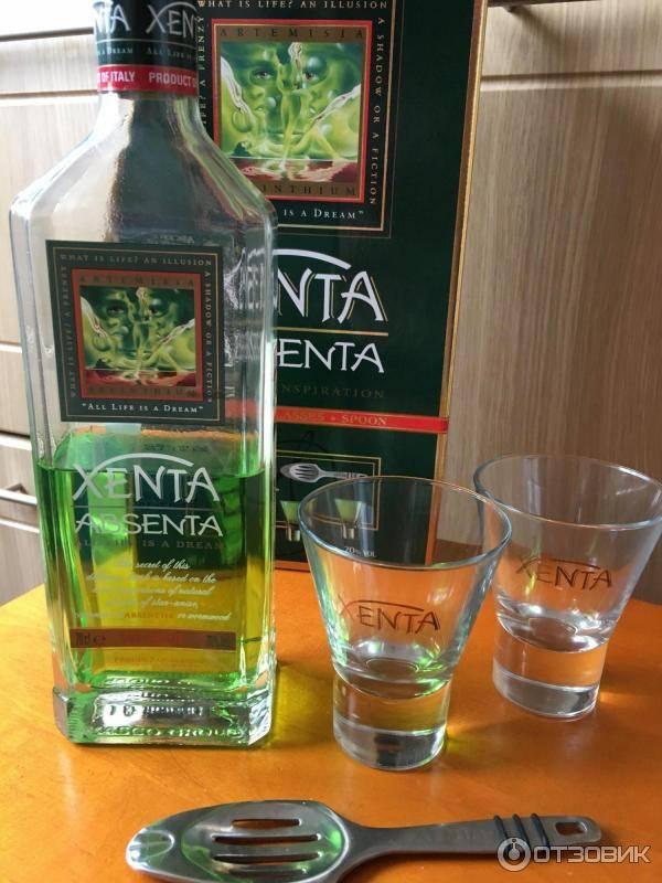 Абсент ксента (xenta absenta) - как будет правильно пить? страна-производитель, ценообразование, отзывы