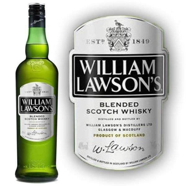 Виски вильям лоусон (william lawson), цена и история бренда