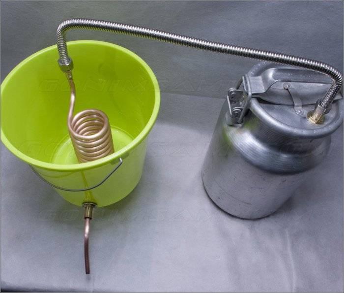 Правила изготовления змеевика: диаметр трубки, материал, расположение