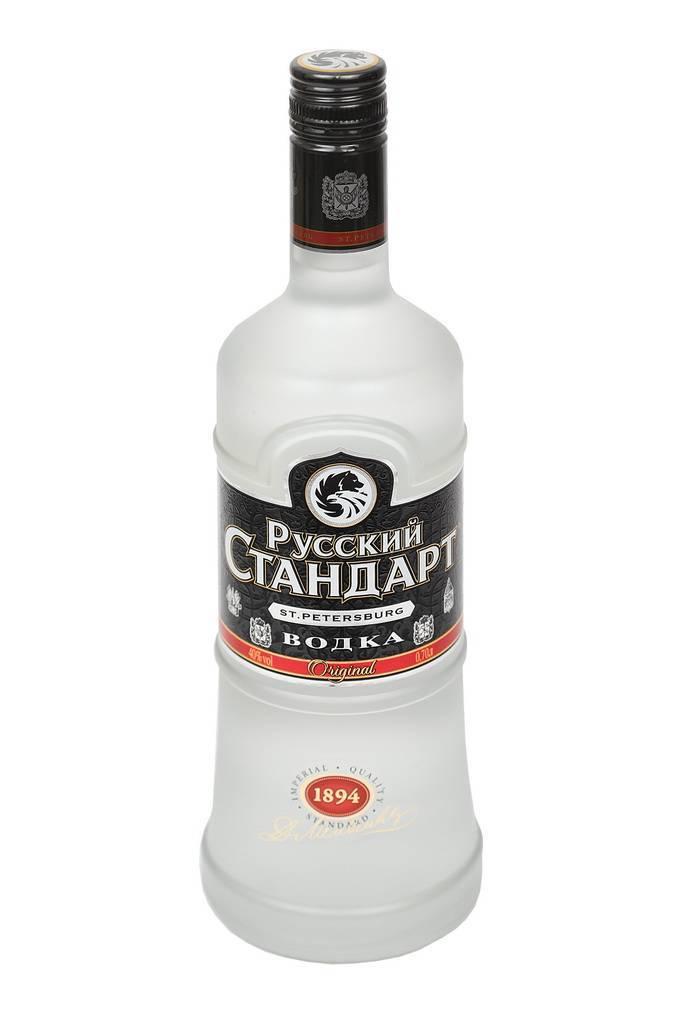 Как отличить оригинал водки «русский стандарт» от подделки?