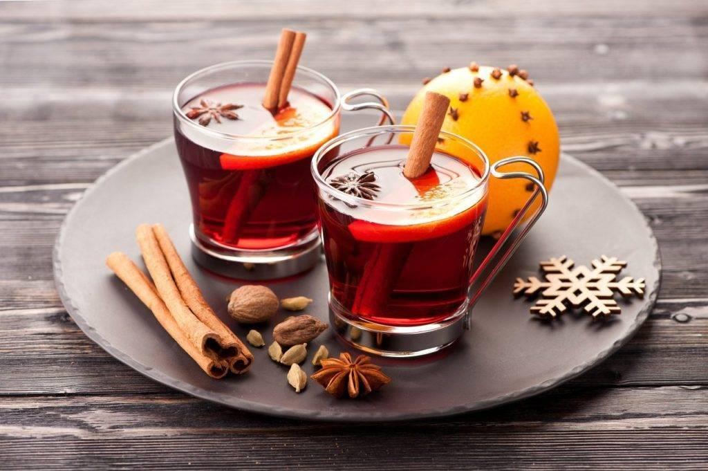 Глинтвейн из красного и белого вина — 7+ рецептов главного напитка зимы