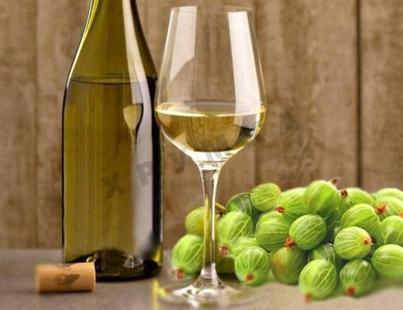 Домашнее вино из крыжовника