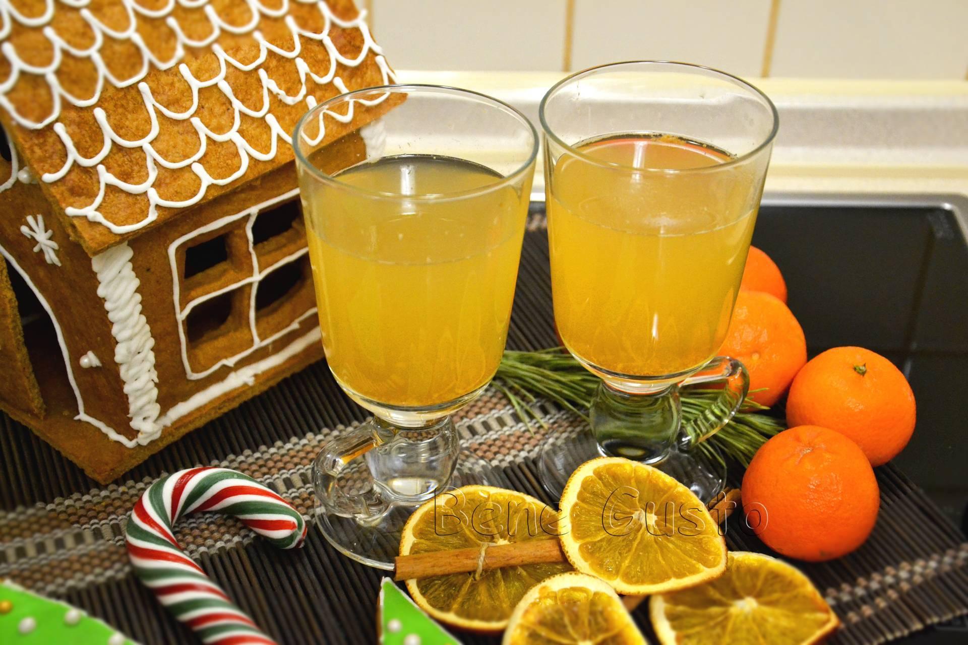 Глинтвейн с апельсином в домашних условиях: рецепт с фото