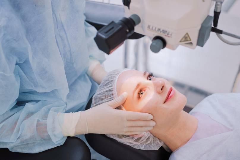 Восстановительный период после лазерной коррекции зрения