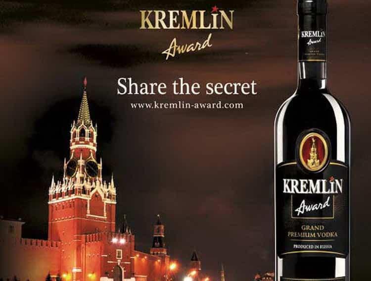 Водка кремлин: краткое описание и отзывы