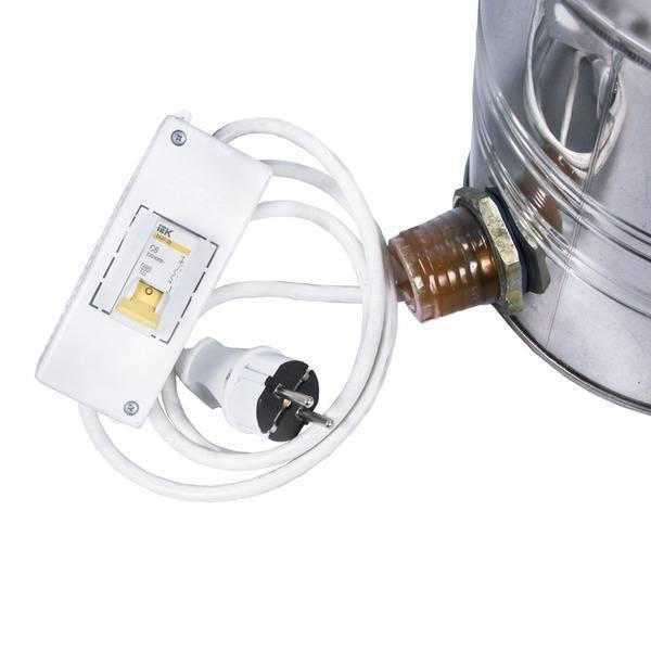 Самогонный аппарат с тэном и терморегулятором - схема электрического самогонного аппарата