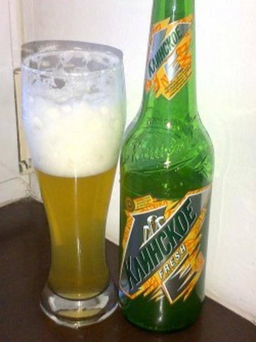 Обзор клинского пива