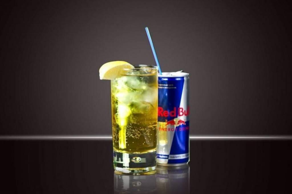 Водка с энергетиком – что будет, если смешать напитки?
