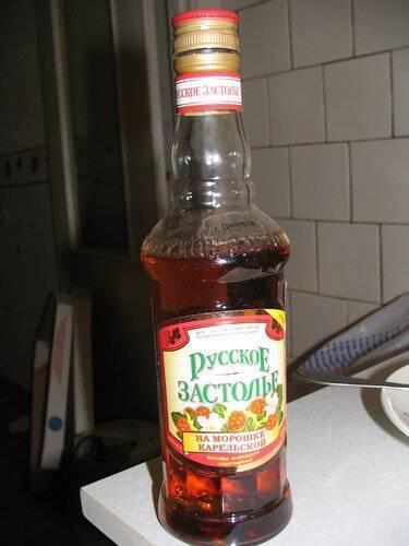 Рецепт приготовления домашней настойки из морошки
