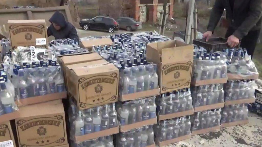 Сколько бутылок в ящике водки