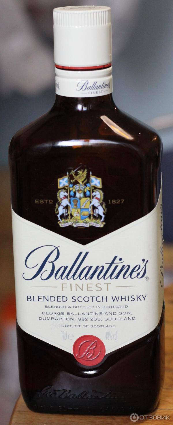 Виски ballantine's (баллантайнс)