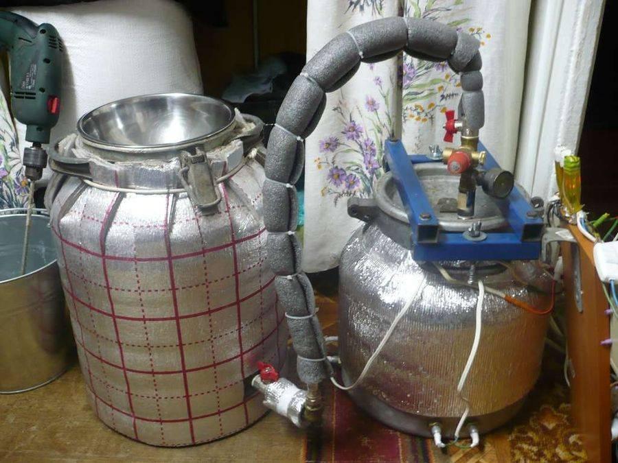Самогонный аппарат из кеги: процесс изготовления своими руками