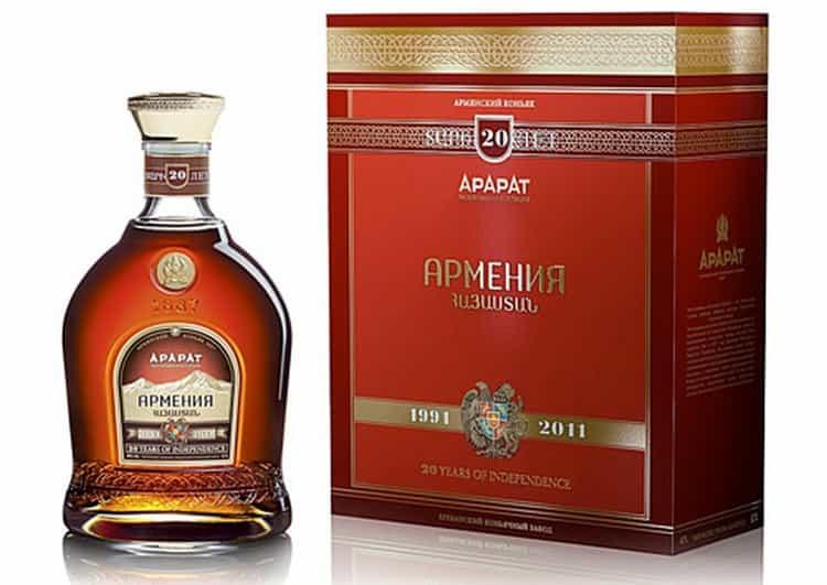 Армянский коньяк: градация + обзор 6 марок