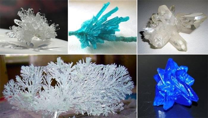 Выращивание кристаллов в домашних условиях