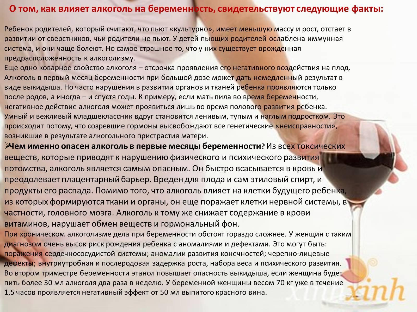 Красное вино во время беременности — польза и вред