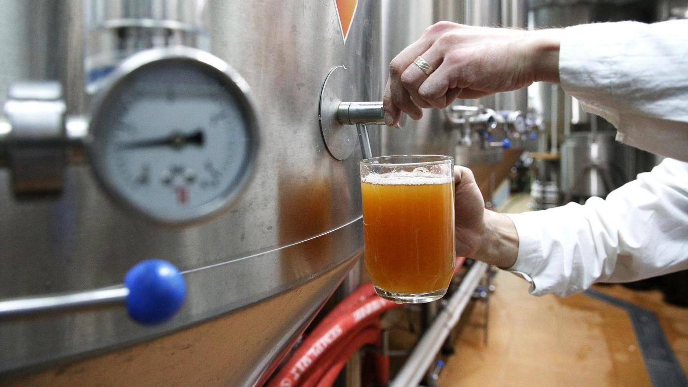 Технологическая линия производства пива