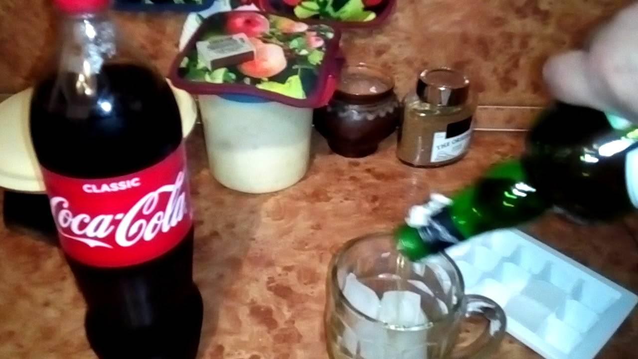 Виски с колой – 4 рецепта коктейлей, правильные пропорции