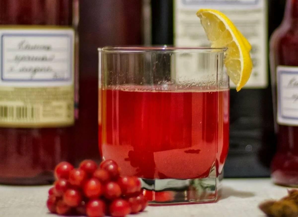 Домашнее вино из калины пошаговый рецепт