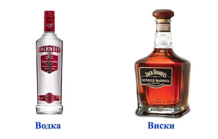 Чем отличается виски от водки и что лучше