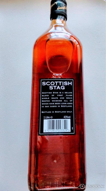Виски «scottish stag»: описание, отзывы и стоимость