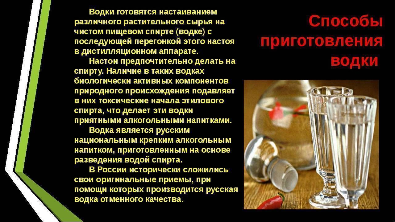 Спирт - рецепты