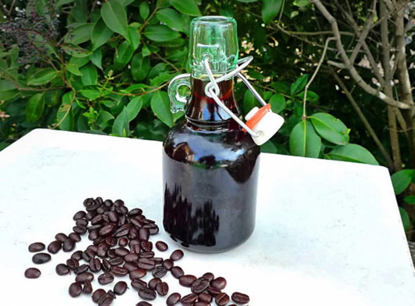 Самогон на кофе: приготовление и противопоказания