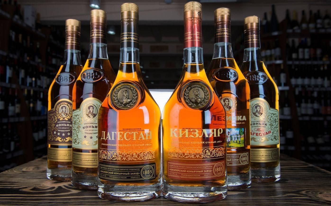 Коньяк дагестан: обзор напитка, виды, факты, история