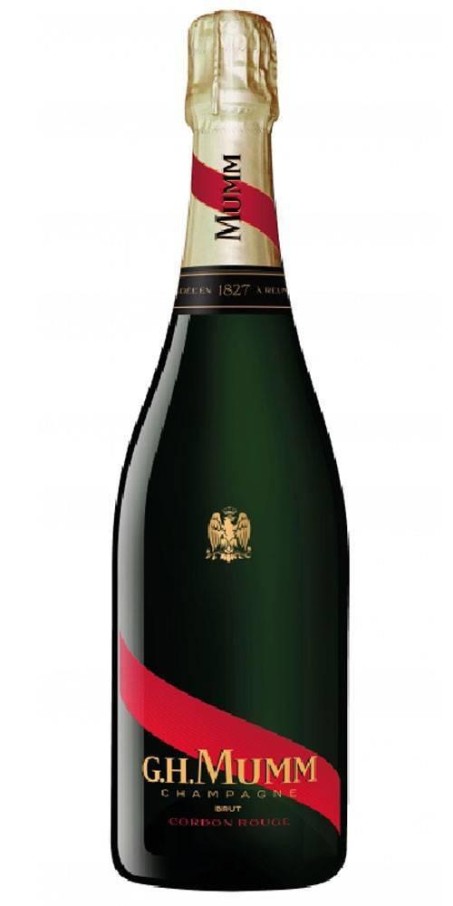 Шампанское mumm, «cordon rouge» aoc, wooden box, 1.5 л — мумм, «кордон руж» брют, в деревянной коробке, 1.5 литра