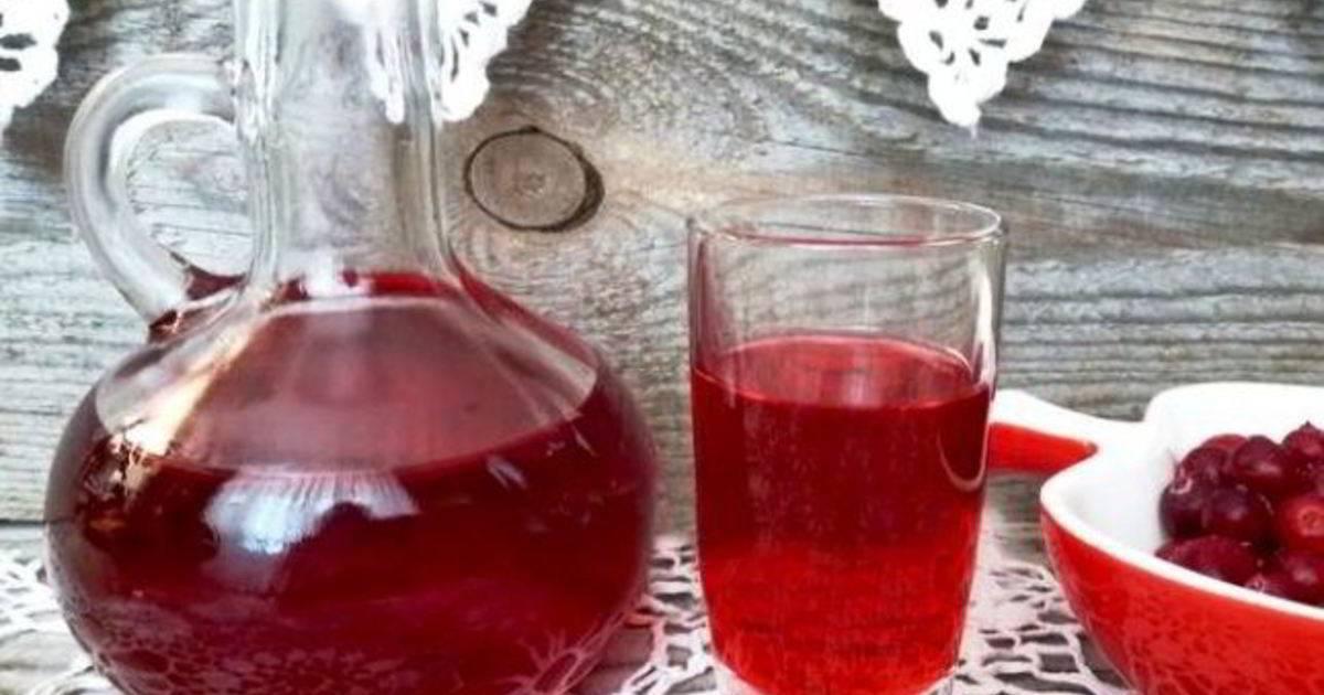 Рецепты настойки клюквы на самогоне (клюквенная настойка)