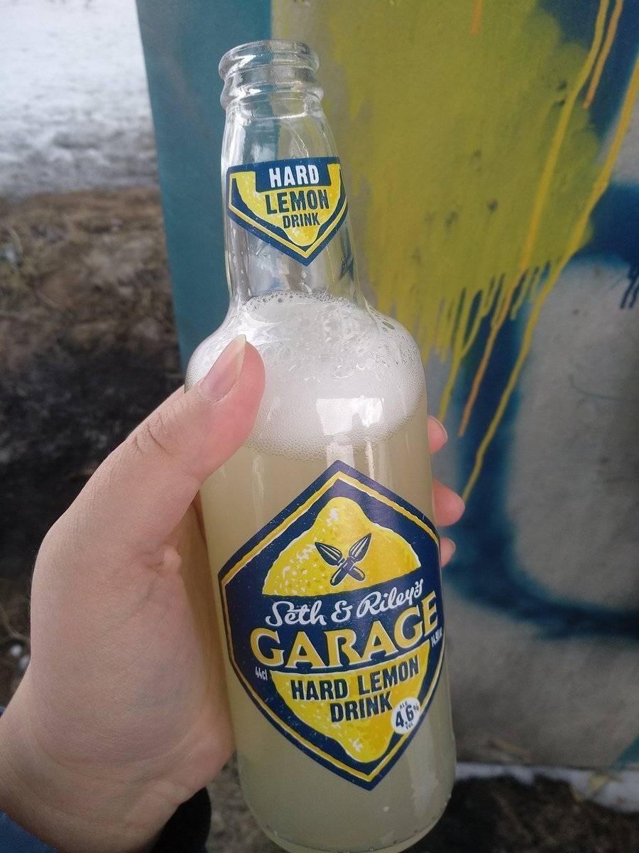 Что за напиток seth & riley's garage и является ли он пивом