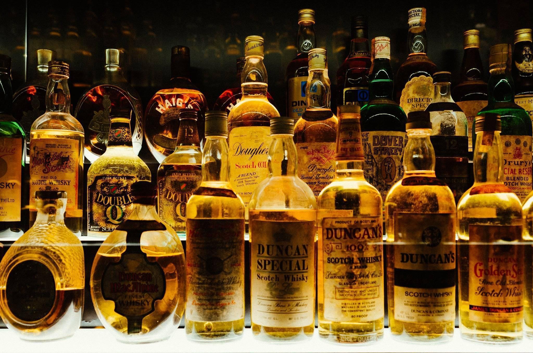 Сорта и разновидности виски