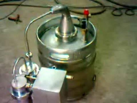 Изготовление перегонного куба из пивной кеги