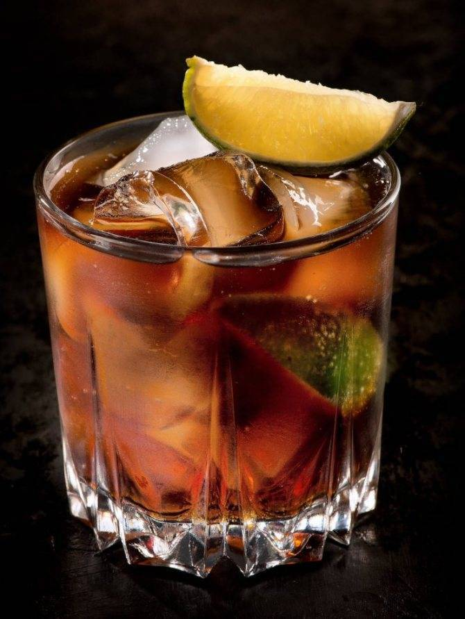 Ром с колой: название коктейля, пропорции для смешивания, как пить правильно