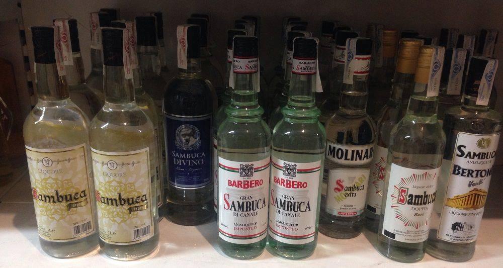 Самбука: что это за напиток, как появился и какие разновидности имеет