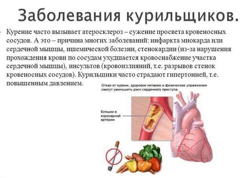 Курение сужает или расширяет сосуды: никотин, сигареты, трубка, табак