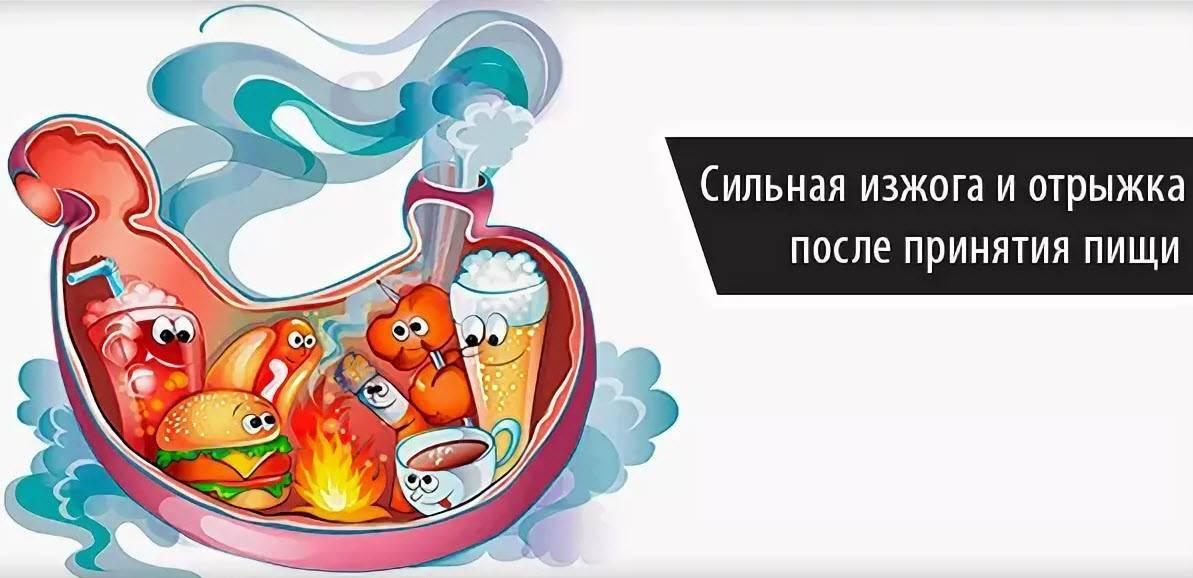 Почему после алкоголя возникает изжога и как от нее избавиться