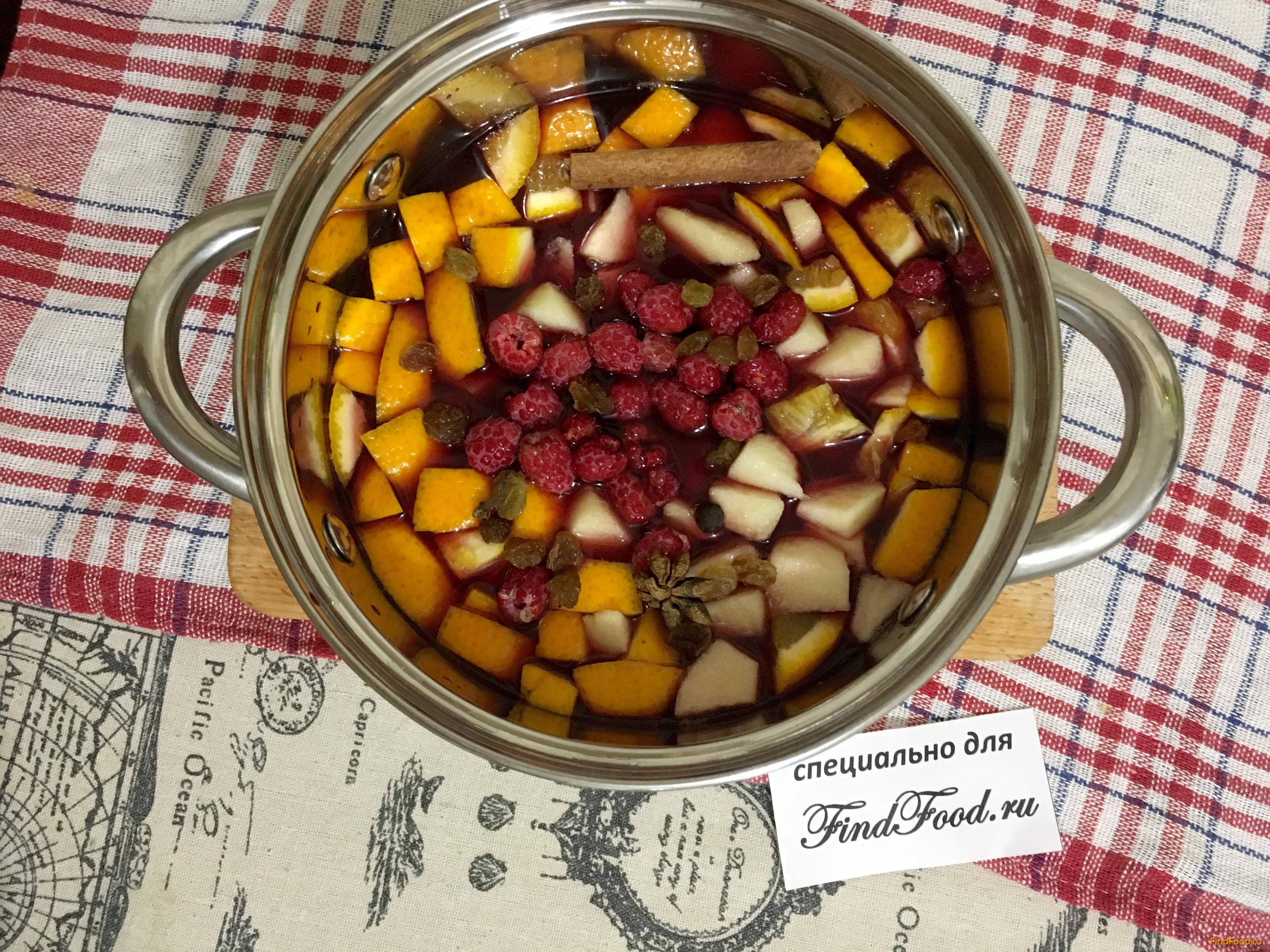 Глинтвейн из красного вина рецепт приготовления в домашних условиях