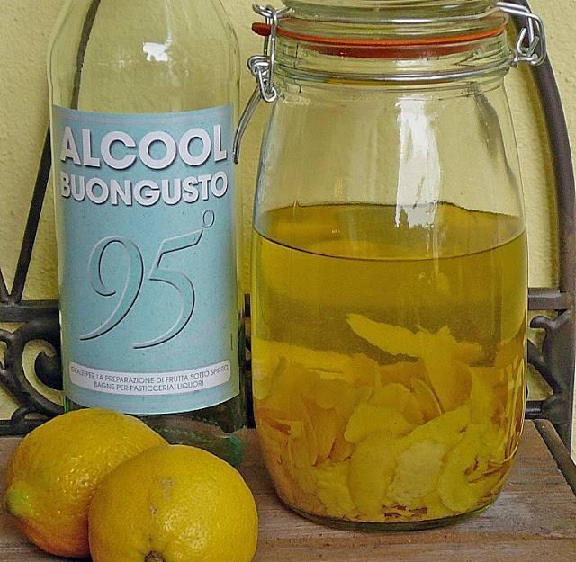 Коктейли с лимончелло