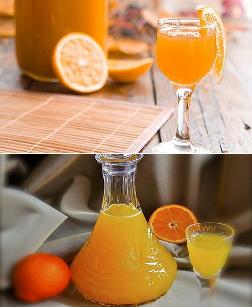 Апельсиновый ликёр домашний на поварёнок.ру