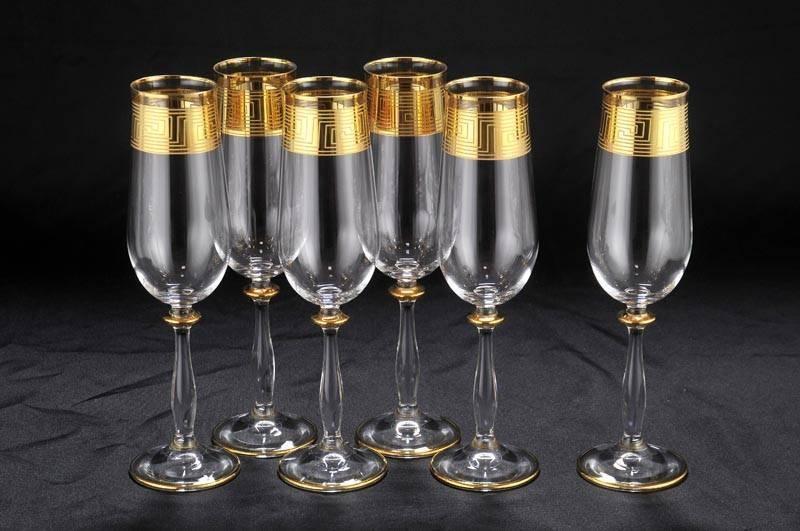 Все о бокалах для шампанского