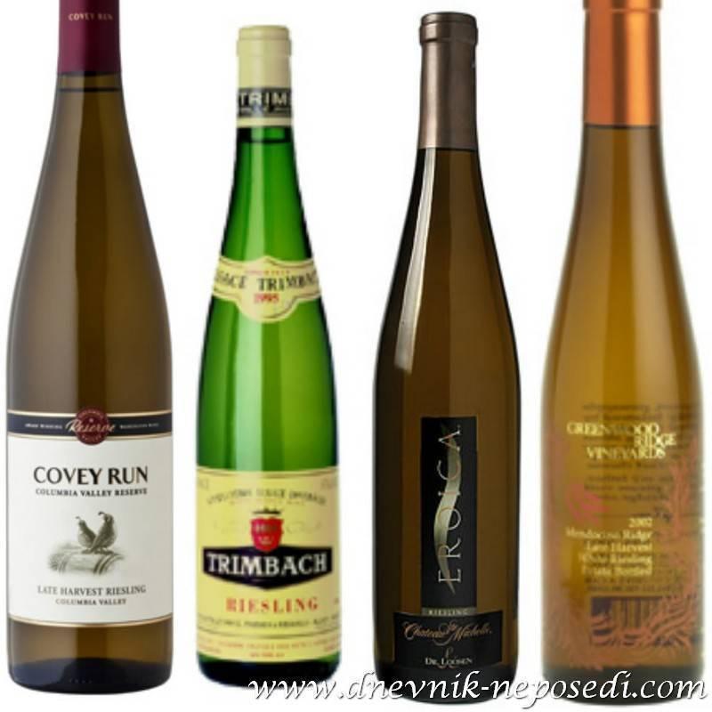 Обзор марок и видов вин германии