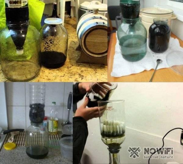 Очистка самогона кокосовым углем в домашних условиях