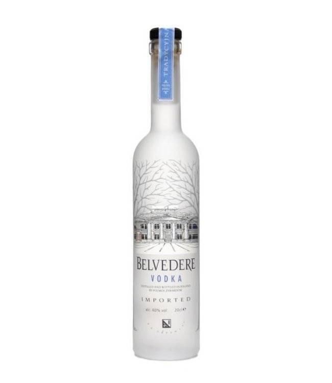Обзор водки бельведер