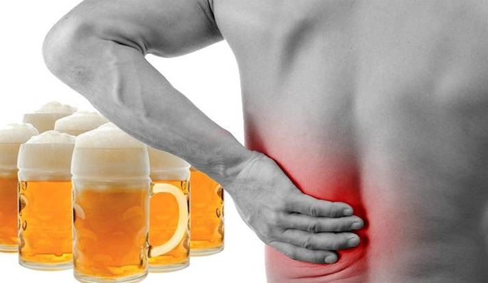 После алкоголя болят суставы: могут ли они болеть после выпивки?