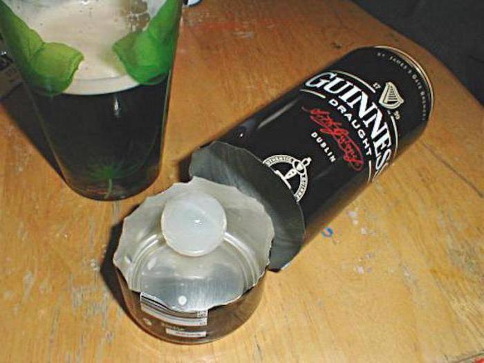 Зачем в пиве гиннес капсула с азотом