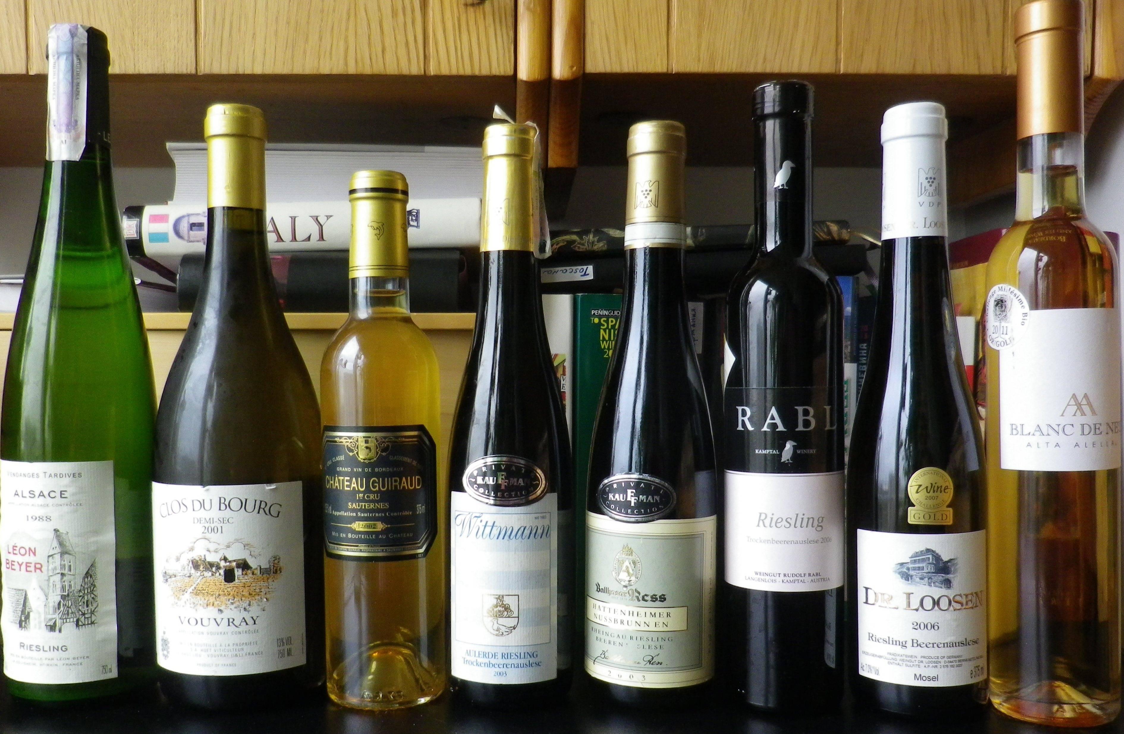 Как выбрать сладкое вино