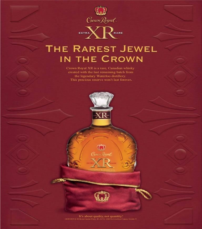 Обзор виски crown royal (кроун роял)